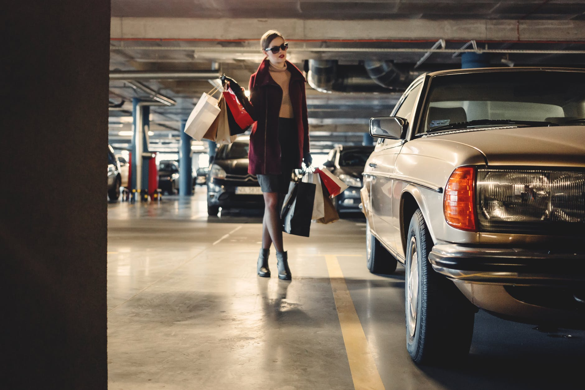 parking shopping