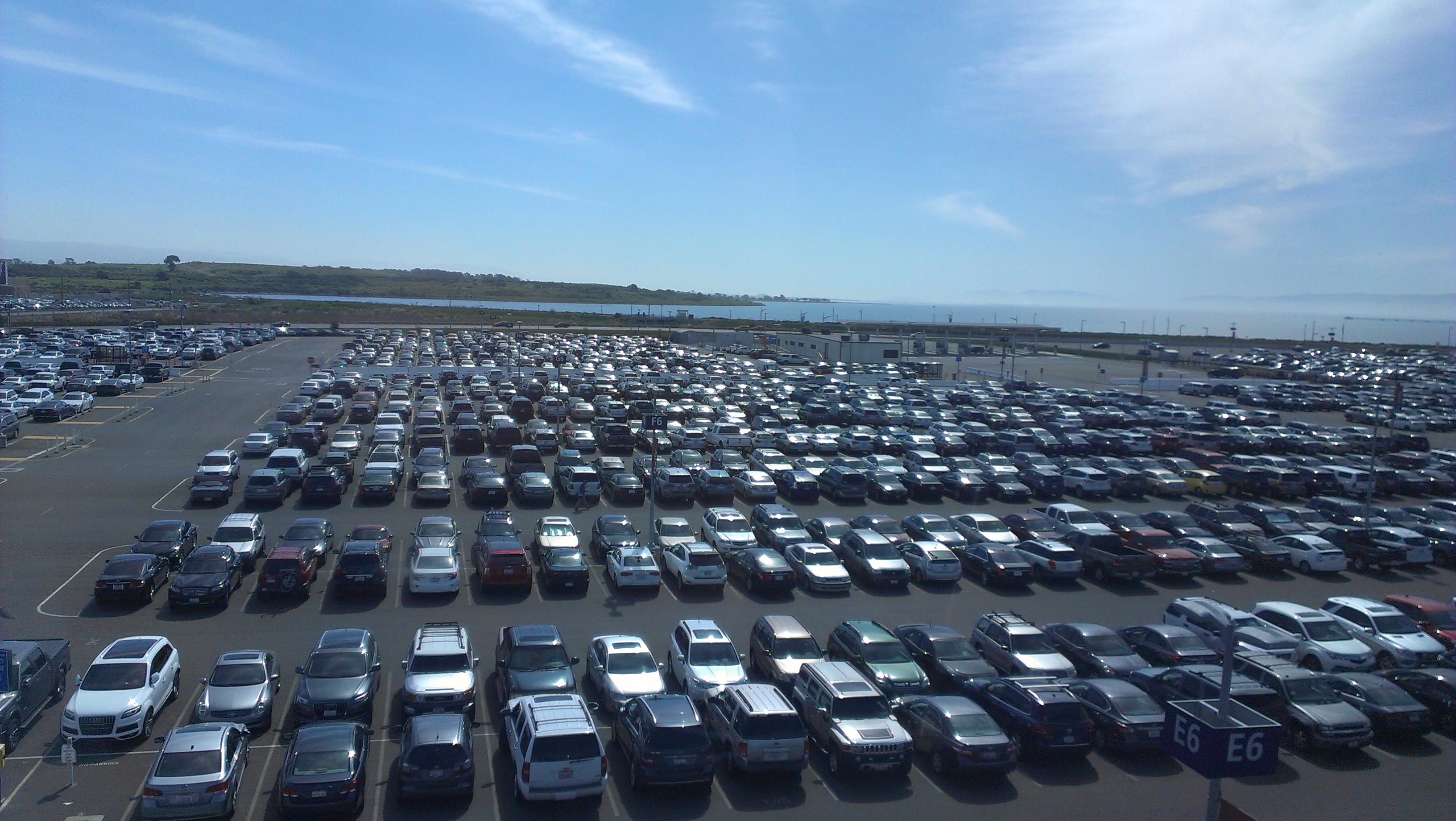 Meet-and-greet parking services