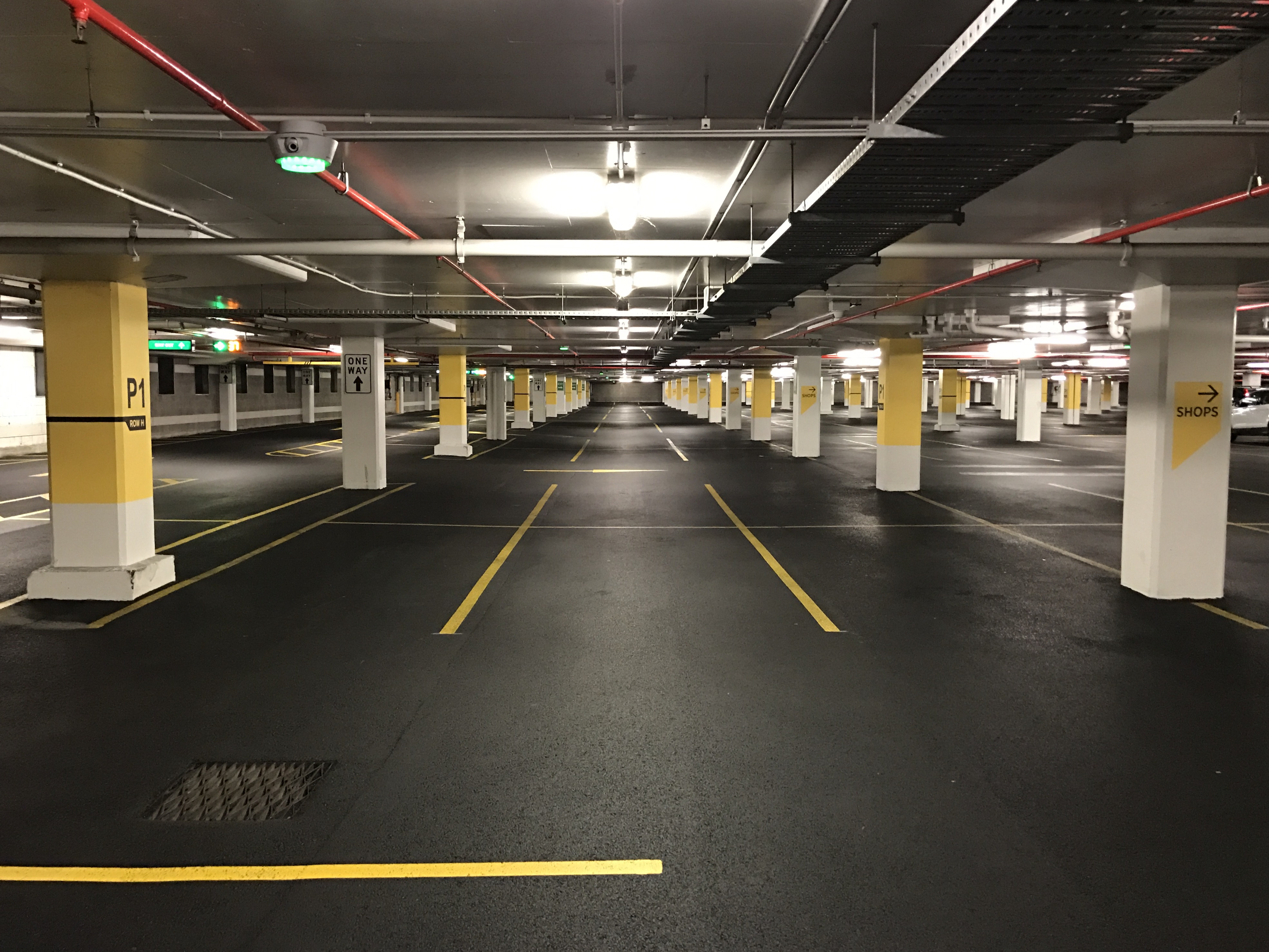 Underground Parking in America