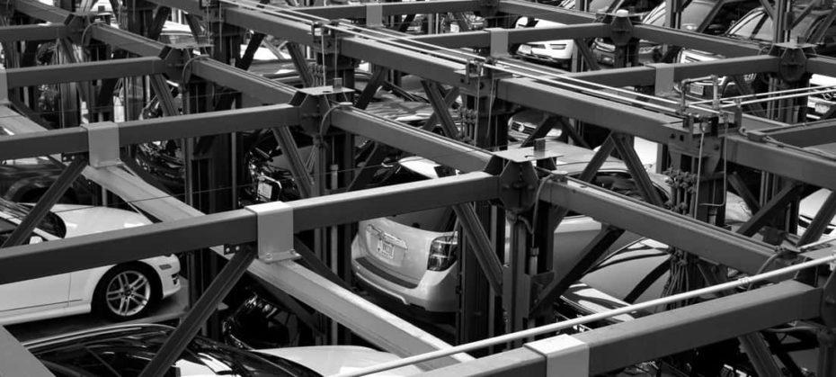Multi-level car stack parking