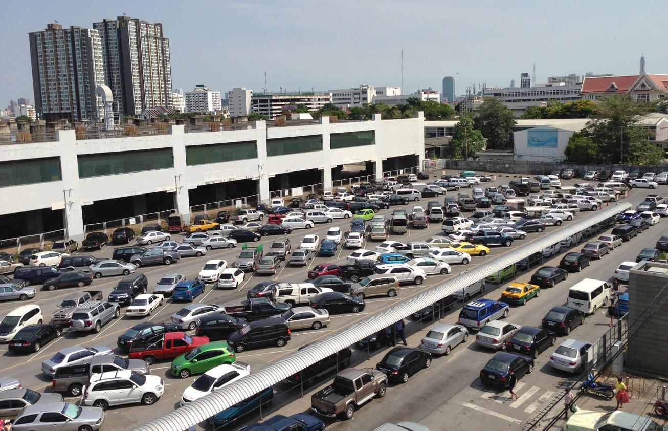 thailand parking