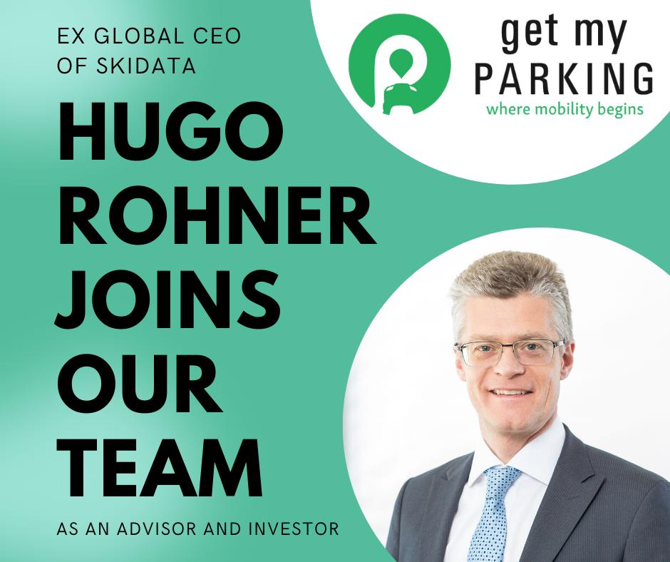 Hugo Rohner joins Get My Parking