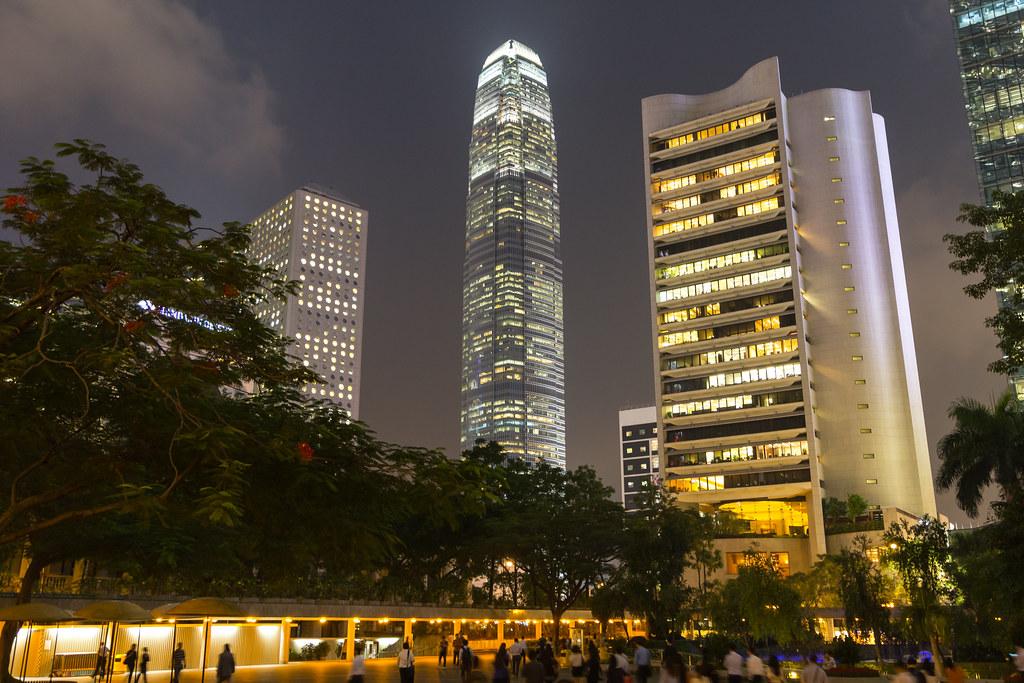 Million-Dollar Parking Spot in Hong Kong